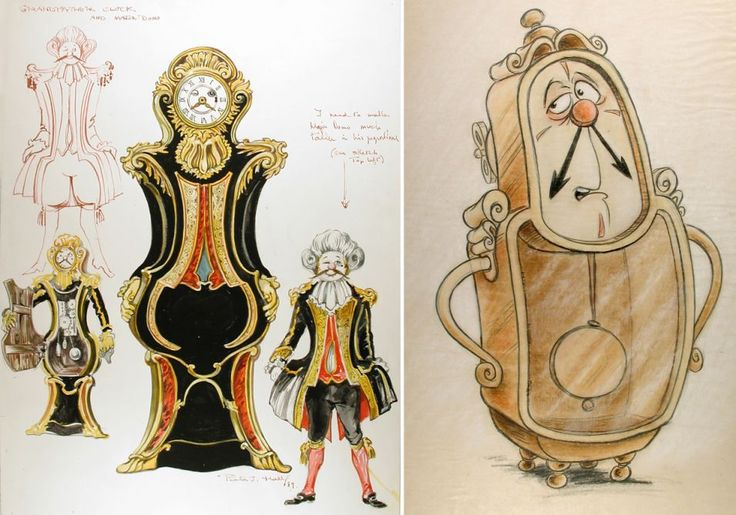Beauty And The Beast Original Concept Art